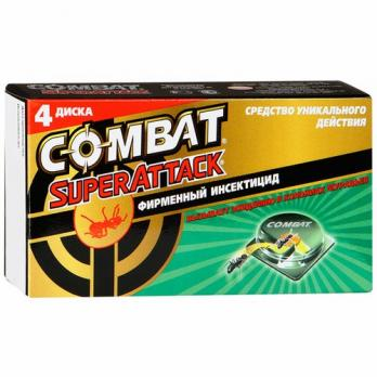 Combat Средство от муравьев уникального действия 4 диска